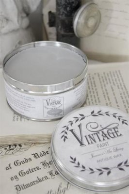 Vintage Paint Vax Light Grey Jeanne d'Arc Living JDL