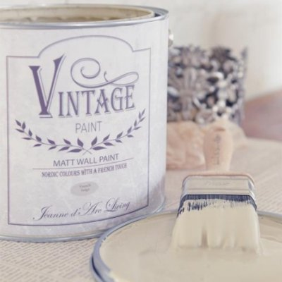 Väggfärg Vintage Paint French Beige Jeanne d'Arc Living JDL